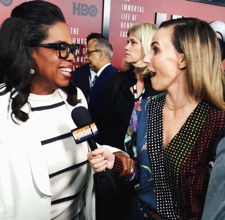 Keltie and Oprah