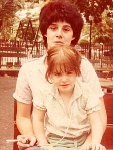 Liz Murray and her mom